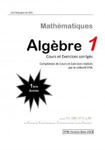 algebre-1-1ere-annee-lmd